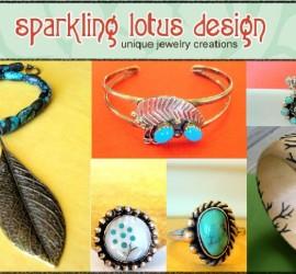 Sparkling Lotus Design