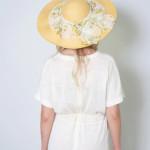 1940s Vintage Floppy Hat