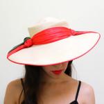 1950s Vintage Wide Brim Sun Hat