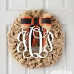 Halloween Wreath by Genevieve Designs