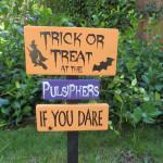 Halloween Sign by Daisy Blossom Creation
