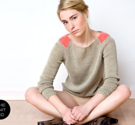 Mohair Knitted Sweater by TheKnitKid