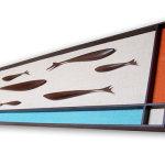 Mid Century Modern Art Fish