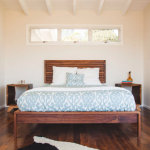 Mid-Century Modern Rene Linjer Bed by RSWDfurniture
