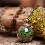 Real Moss Necklace By SomeMagic