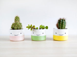 Handmade Ceramic Planters by noemarin